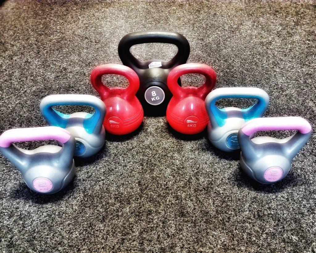 kettlebelly jsou vhodné pro liss cvičení
