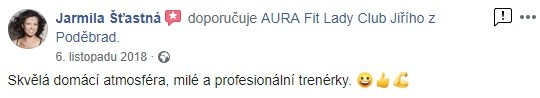 aura refeference jzp Jarmila Šťastná