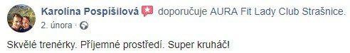 aura reference str Karolína Pospíšilová