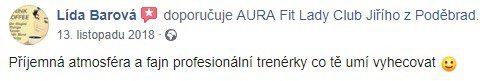 aura reference str Lída Barová