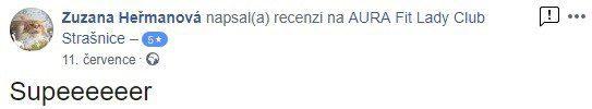 aurafit reference str Zuzana Heřmanová